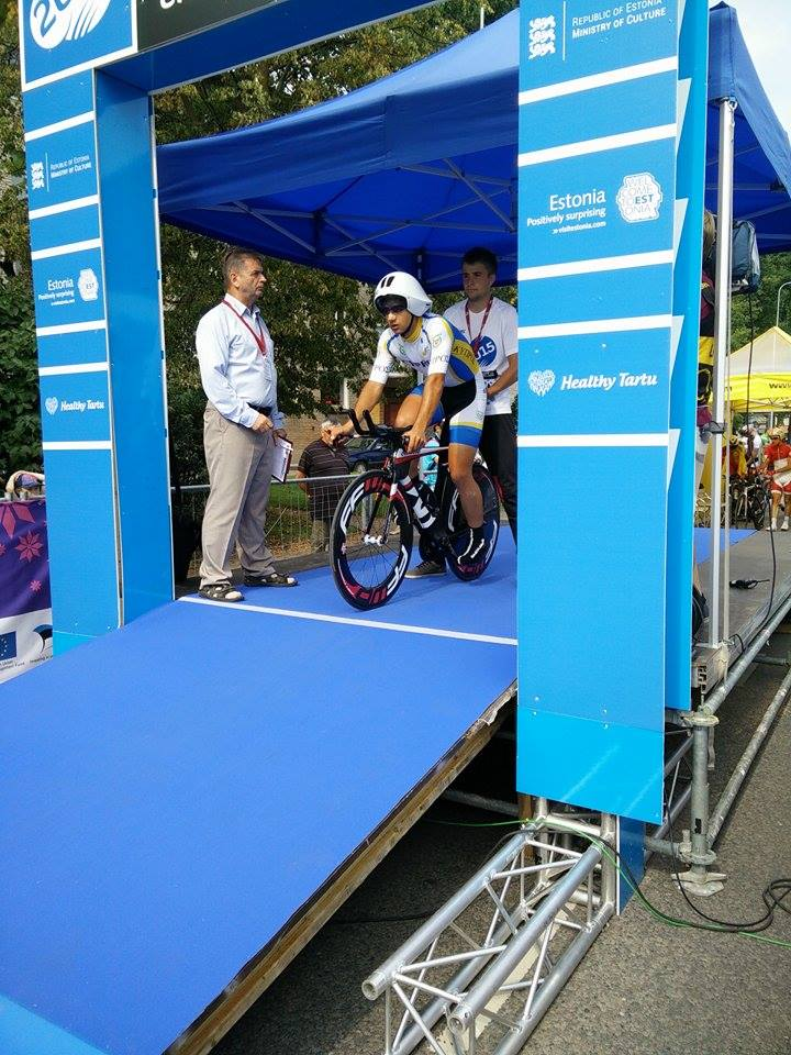 european u23 juniors champs 2015 miltiades tt start